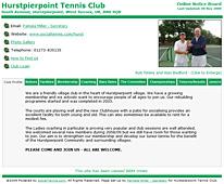Tennis Club Directory